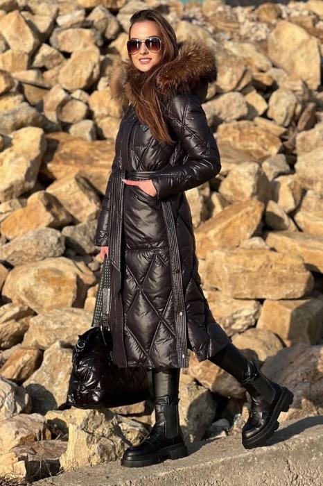 Осеннее пальто женское 2020-2021 в клетку